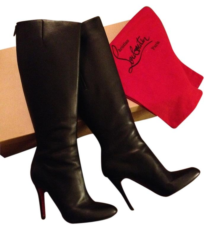 Christian Louboutin Black Bourge Boots/Booties Size US 8.5 Regular (M, B)