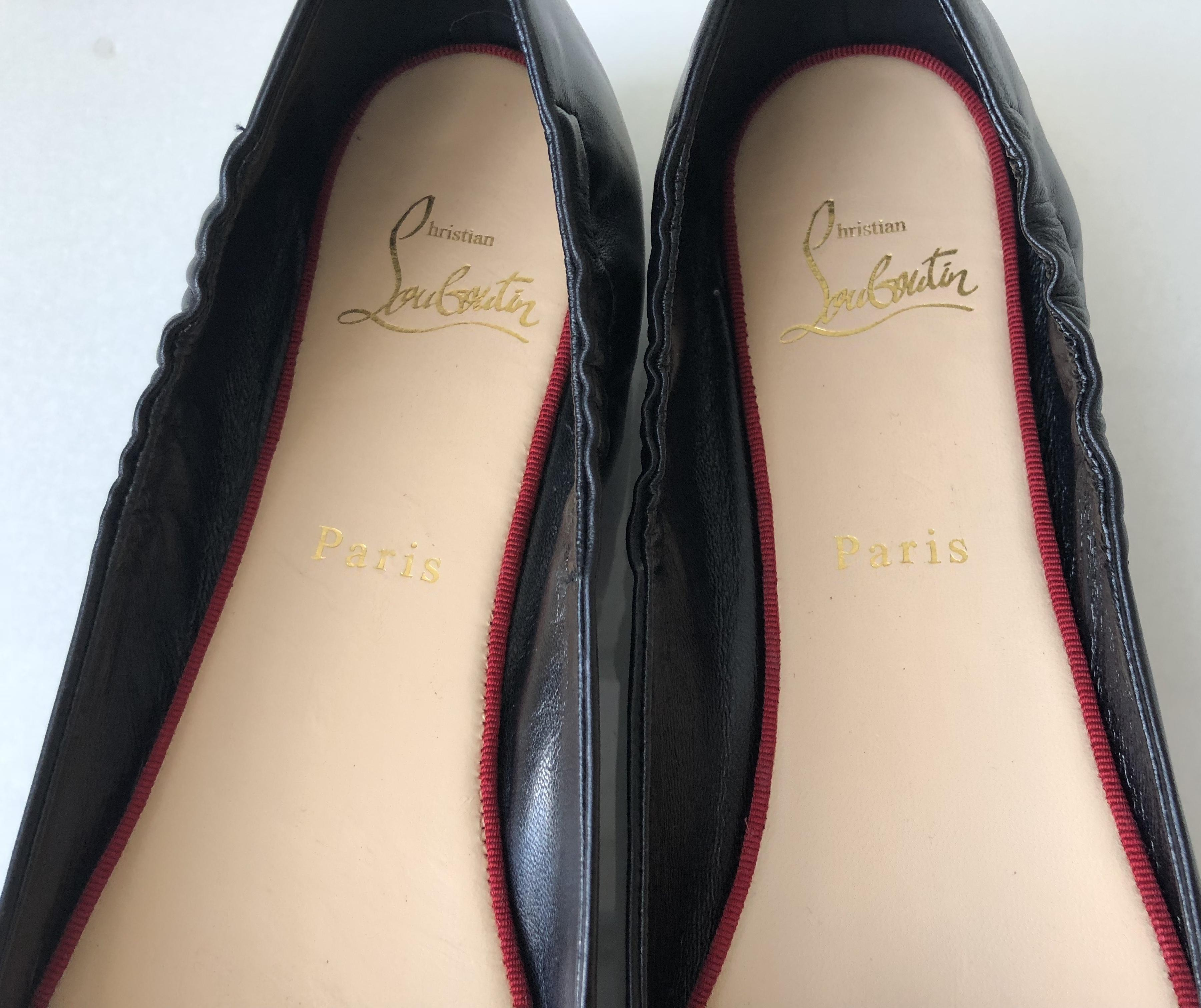 best sneakers 6209e d92a5 greece christian louboutin gloriana ballet flats sale d888a ...
