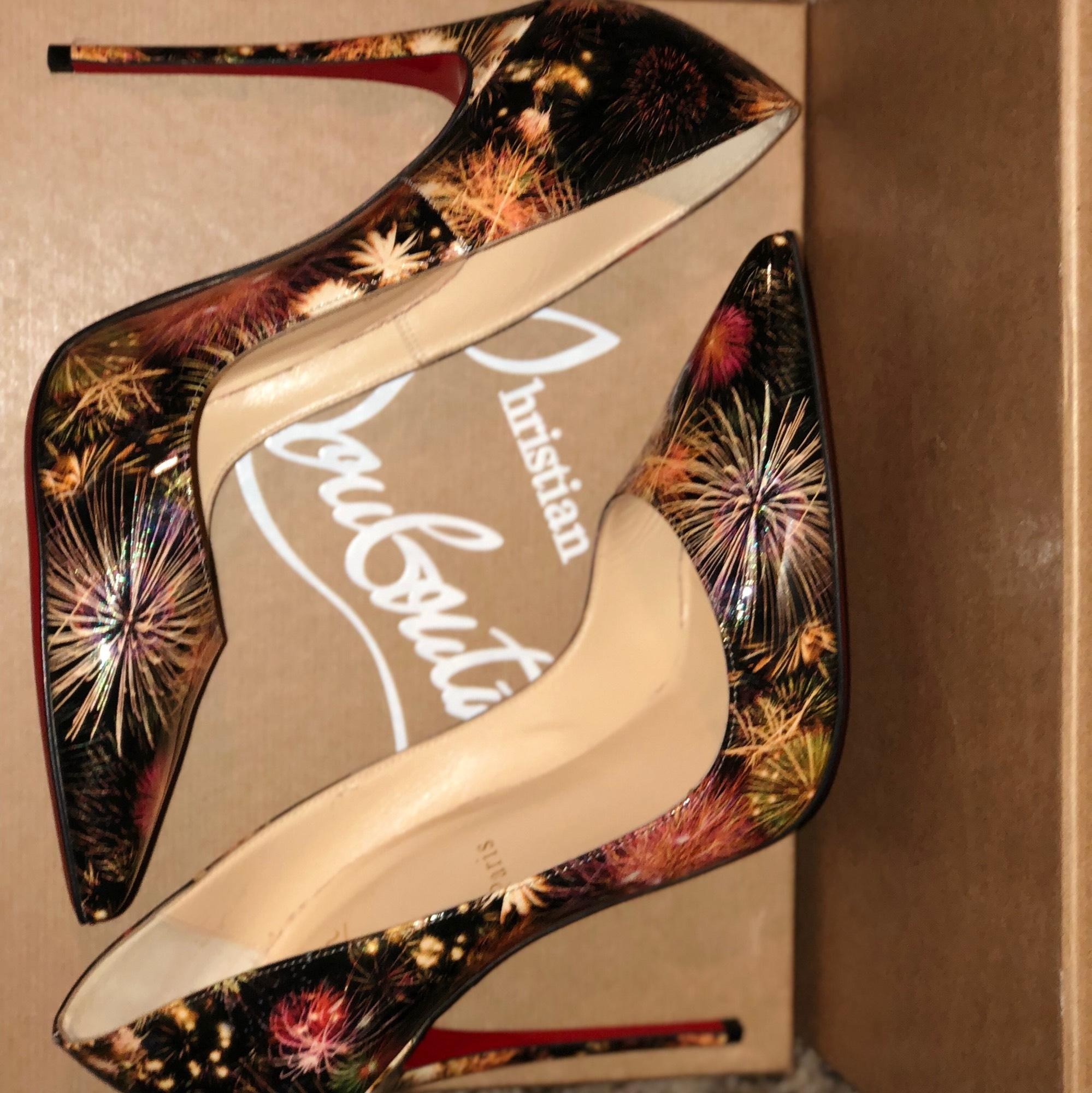 209389a4c53f US Christian Louboutin Black Fireworks So Kate Pumps Size Size Size EU 40 ( Approx. US Christian ...