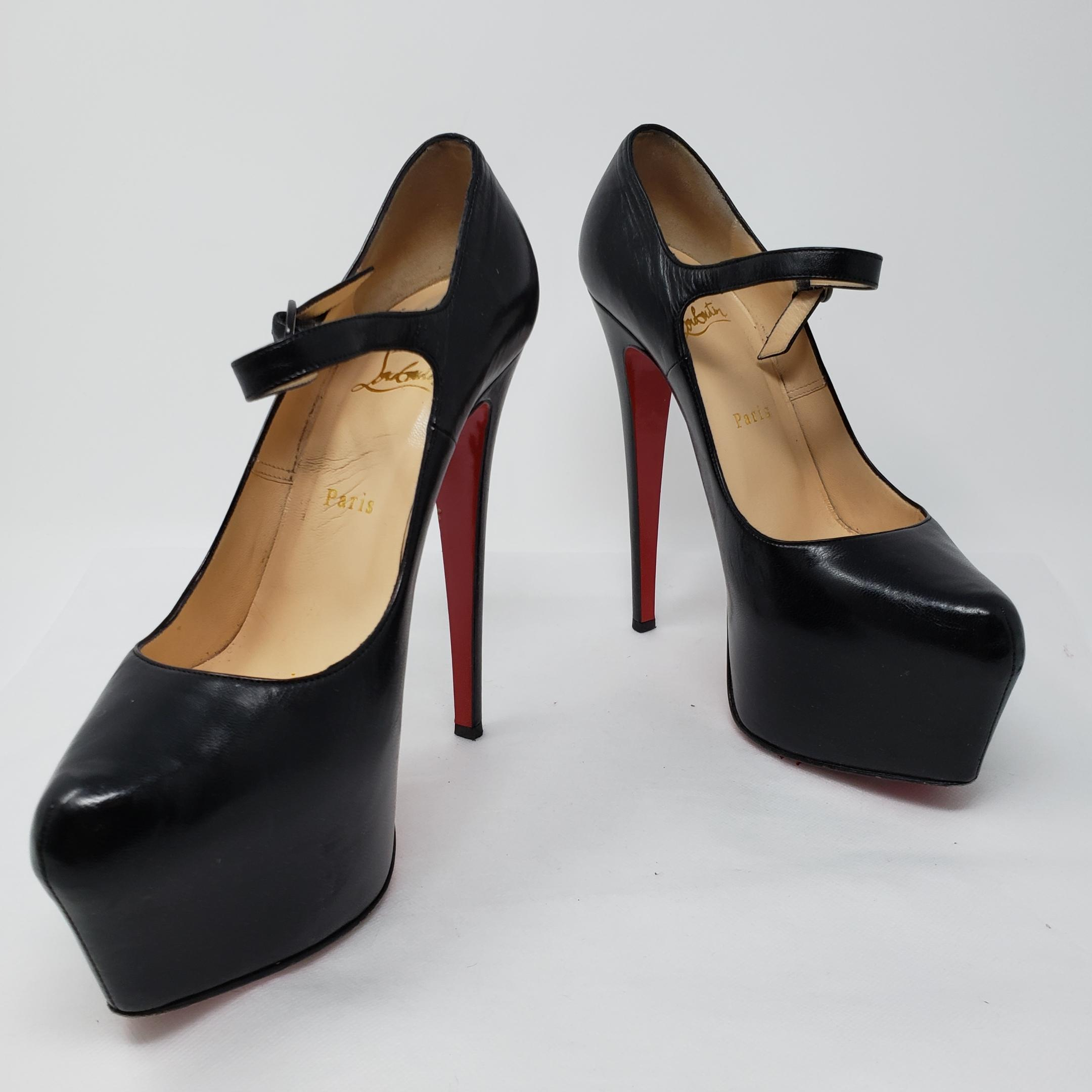 newest ec9bf 1a369 purchase christian louboutin mary jane daffodile twitter ...