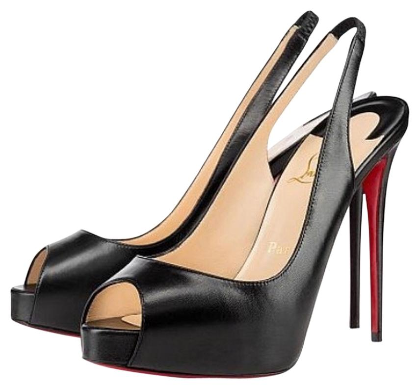 dc061343c327 Christian Louboutin Black Leather No. Prive 120  Sz39.5eu 8.5usa. Pumps  Pumps Pumps Size US 8.5 Regular (M