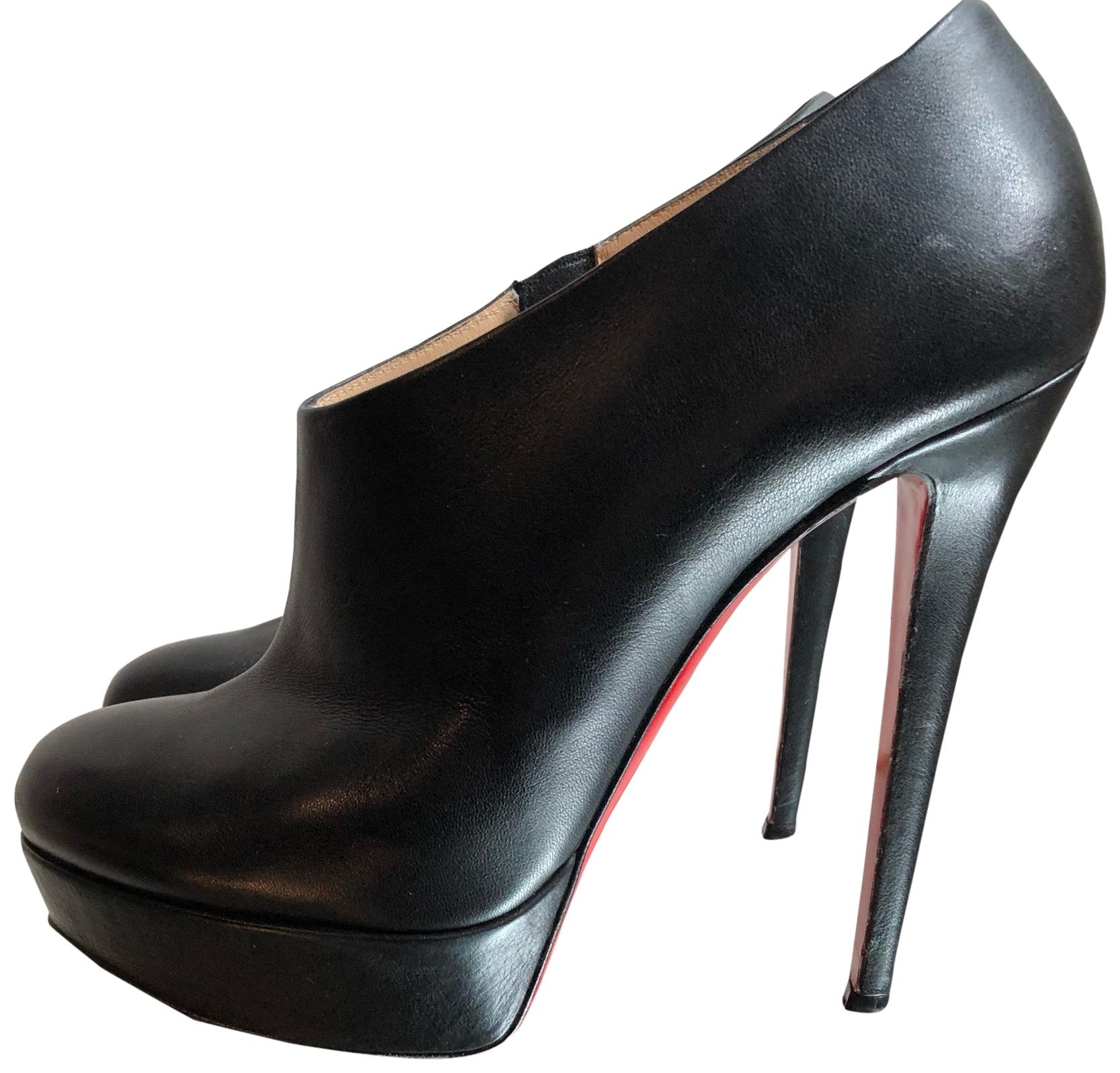 Christian Louboutin Black Moulage 140 Boots/Booties Size EU 40 (Approx. US 10) Regular (M, B)