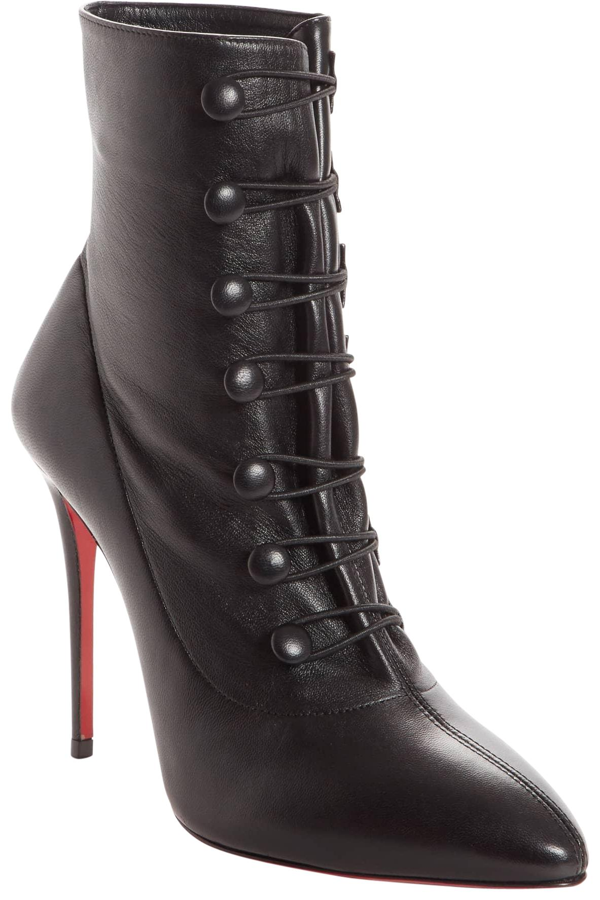 factory price 6eeec 0b280 Christian Louboutin Black New French Tutu Pointy Pointy ...