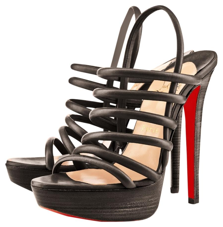 for sale cheap price from china new sale online Christian Louboutin Vildo 140 Leather Sandals clearance cheap price nKogbq