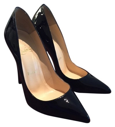 Christian Louboutin black (patent leather) Pumps