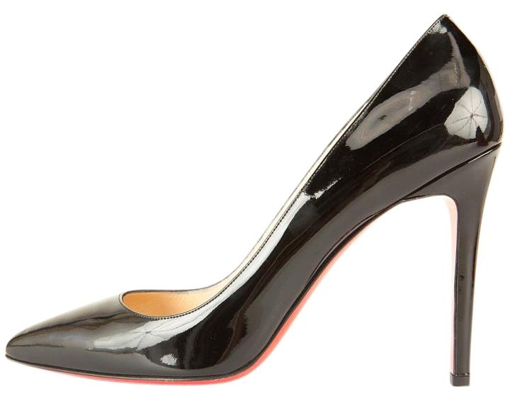 Christian Louboutin Black Patent Leather Pointed Toe Classic Pumps Pumps Classic Size US 11 853a20