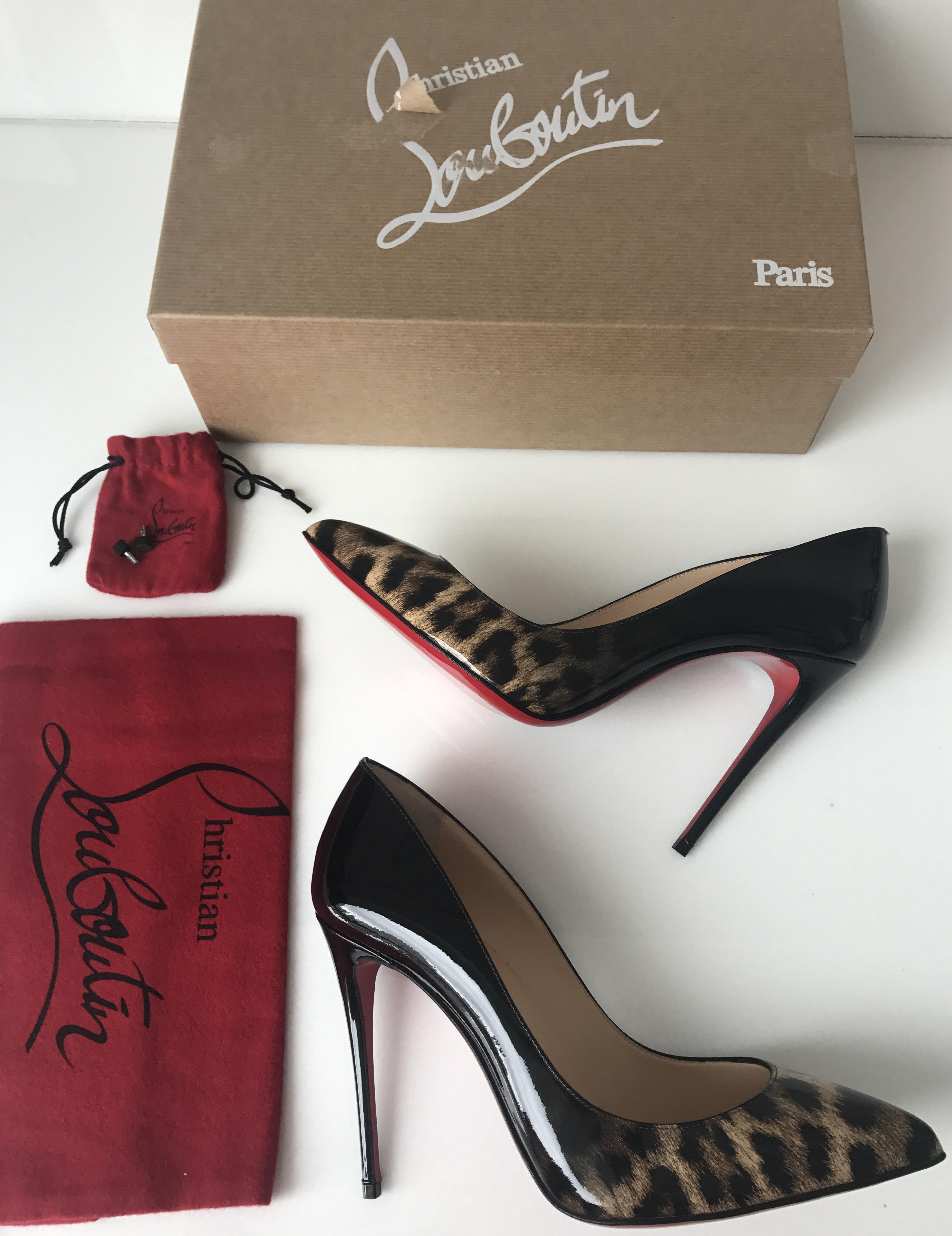 3e742d3724a Christian Louboutin Black Pigalle Follies 100mm Classic Classic ...