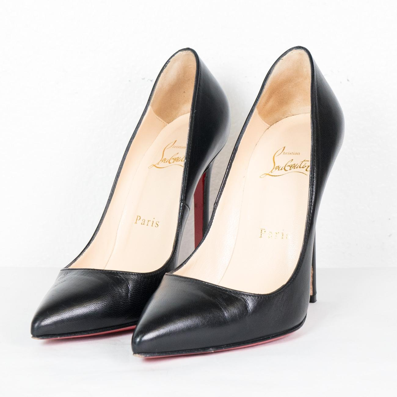 1258be608a03 ... Christian Louboutin Black  pigalle  Pointy Pointy Pointy Toe Pumps Size  EU 36 (Approx ...