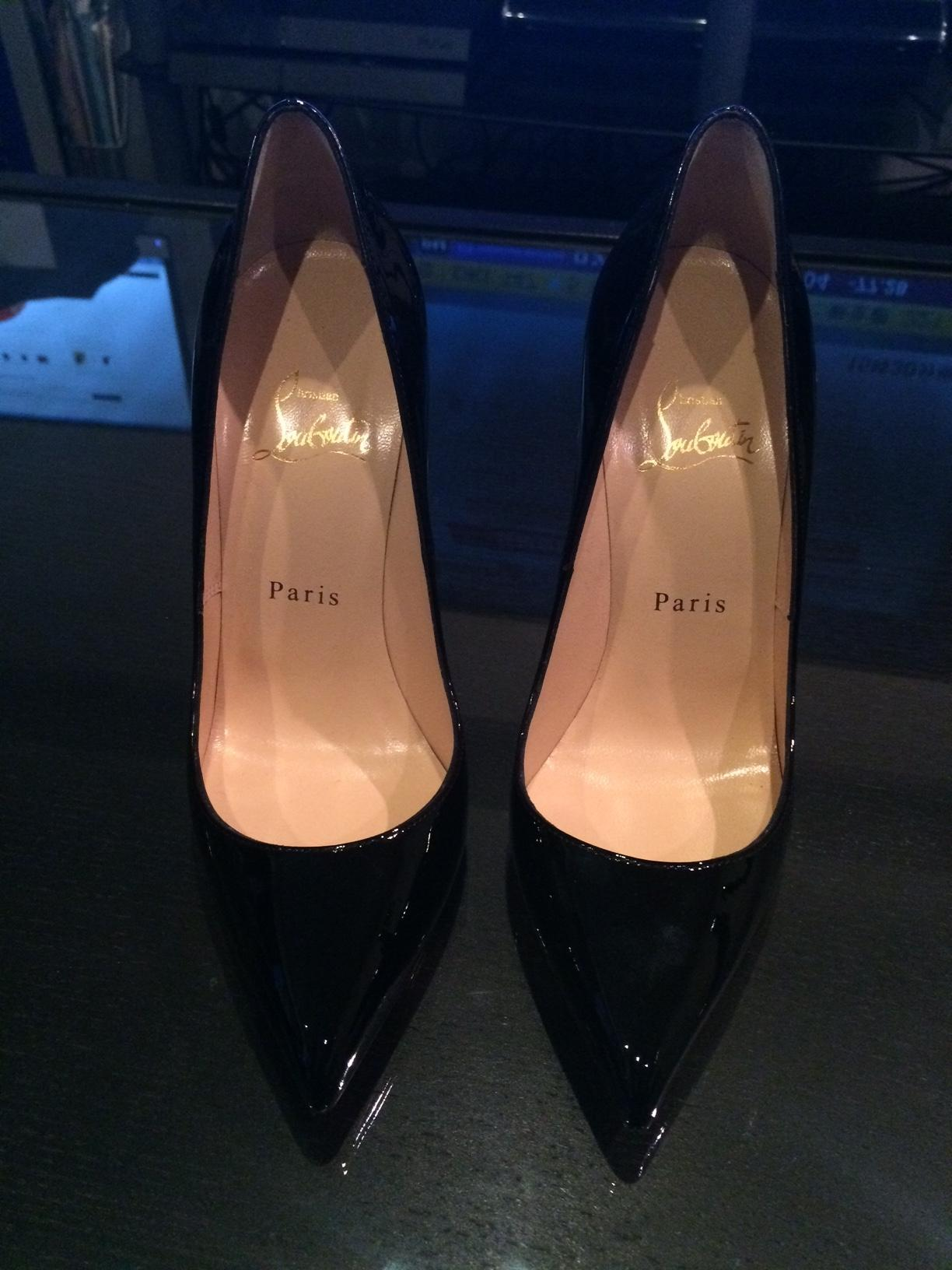 60ac9a0fd05b ... Man s Woman s   Christian Louboutin Black Pigalle Pumps Size US US US 7  Regular ...