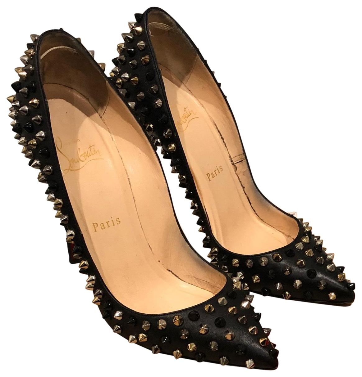 louboutin pigalle spikes 120