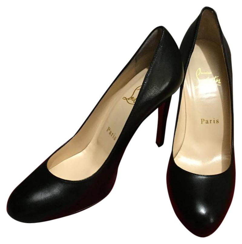 newest collection fc1ab f7fc3 Christian Louboutin Black Simple 100mm Pumps Size US US US 6 ...