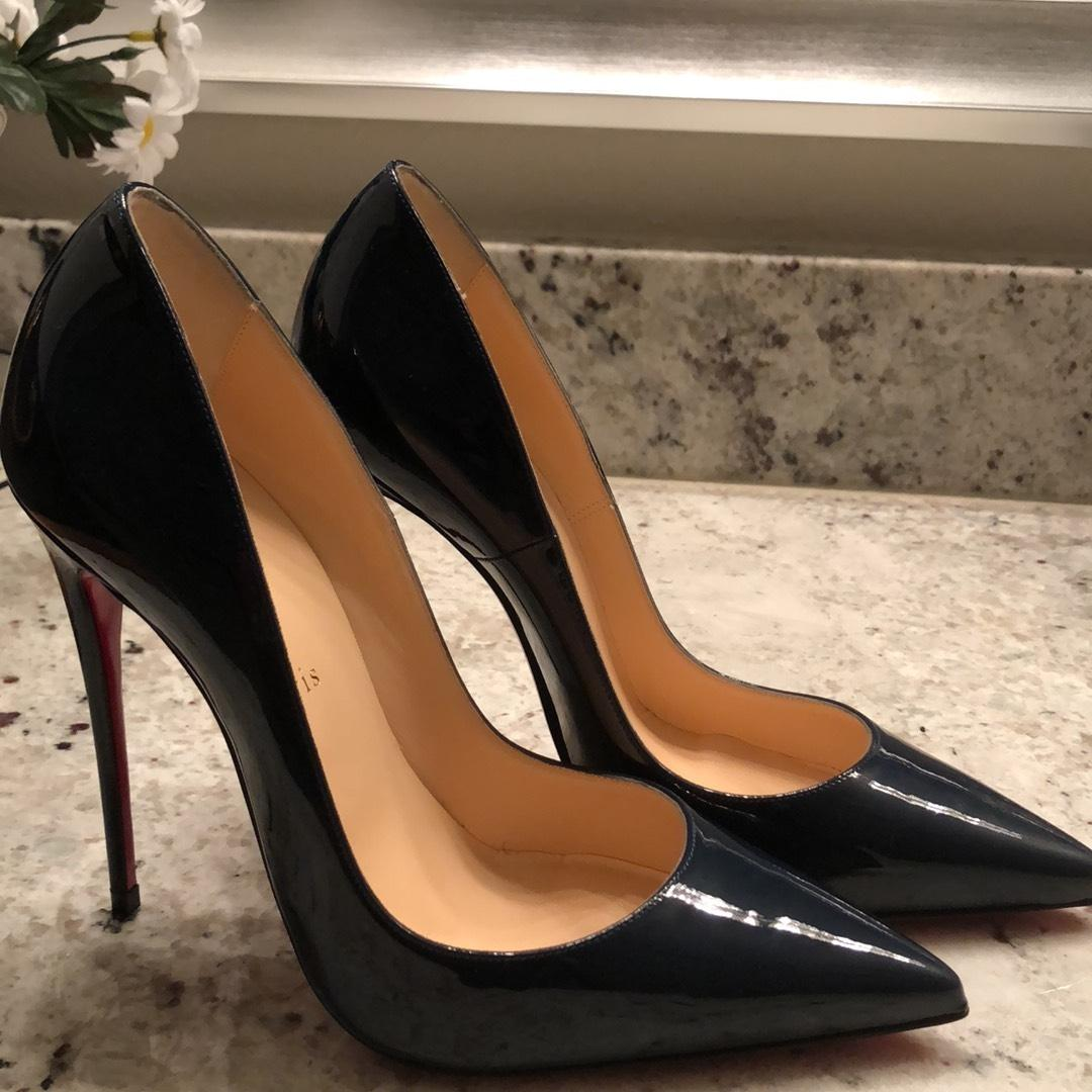 aa739d7686c7 ... Man Woman :Christian Louboutin Black So Kate Patent Red Sole Sole Sole Pumps  Size ...