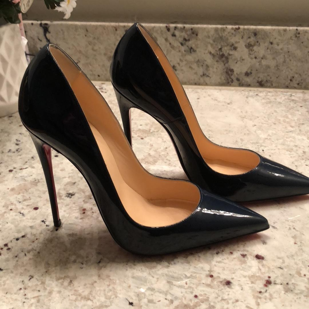 f3caa6dd7248 ... Man Woman :Christian Louboutin Black So Kate Patent Red Sole Pumps  Pumps Pumps Size ...