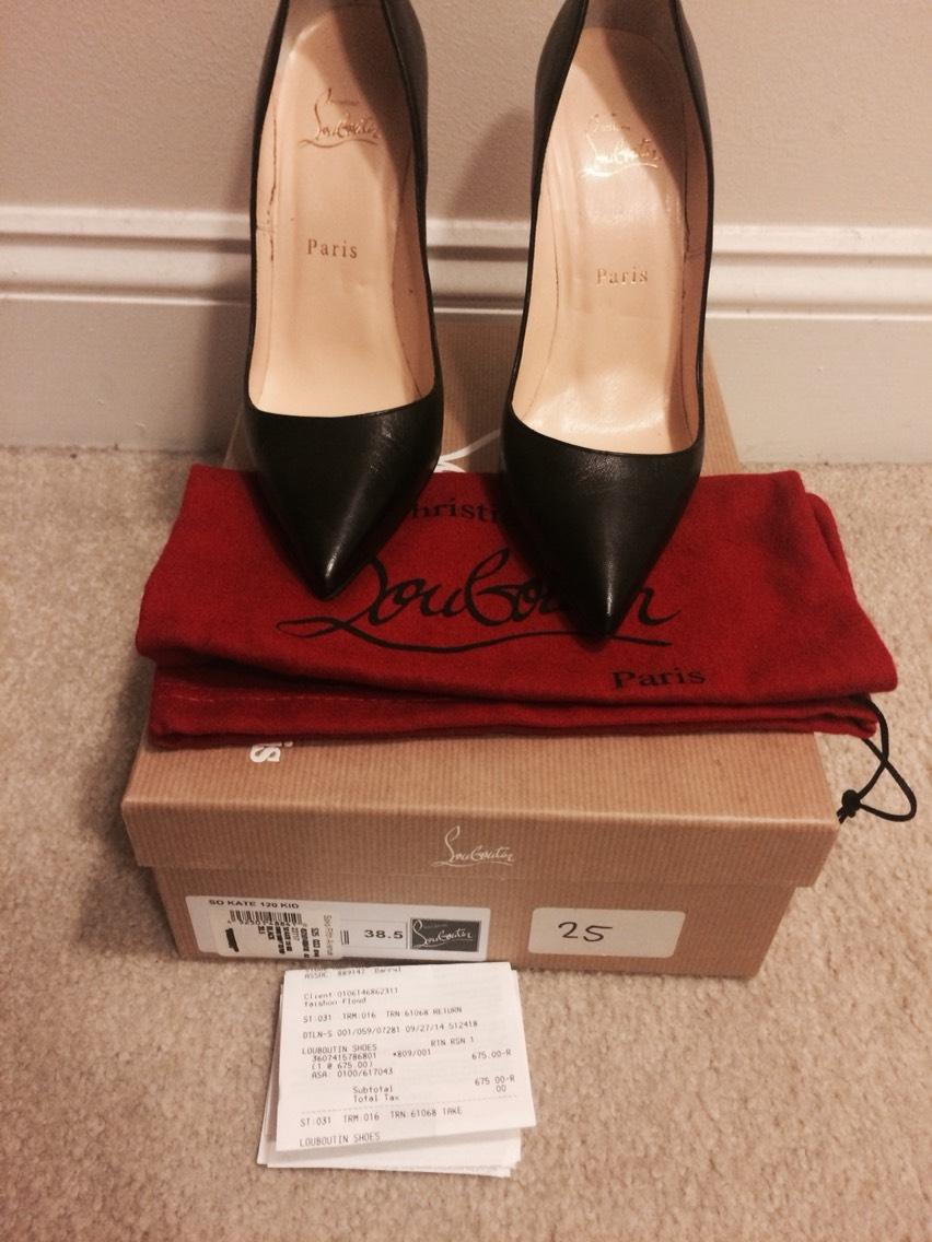 1b8c5a61806f Men s Women s-Christian Louboutin Black So Kate Pumps Size US 8.5 Regular  Regular Regular (M