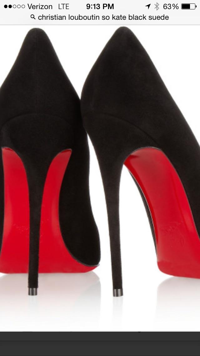a560fbbc209 Christian Louboutin Black Suede So Kate Pumps Size Size Size US 7.5 ...