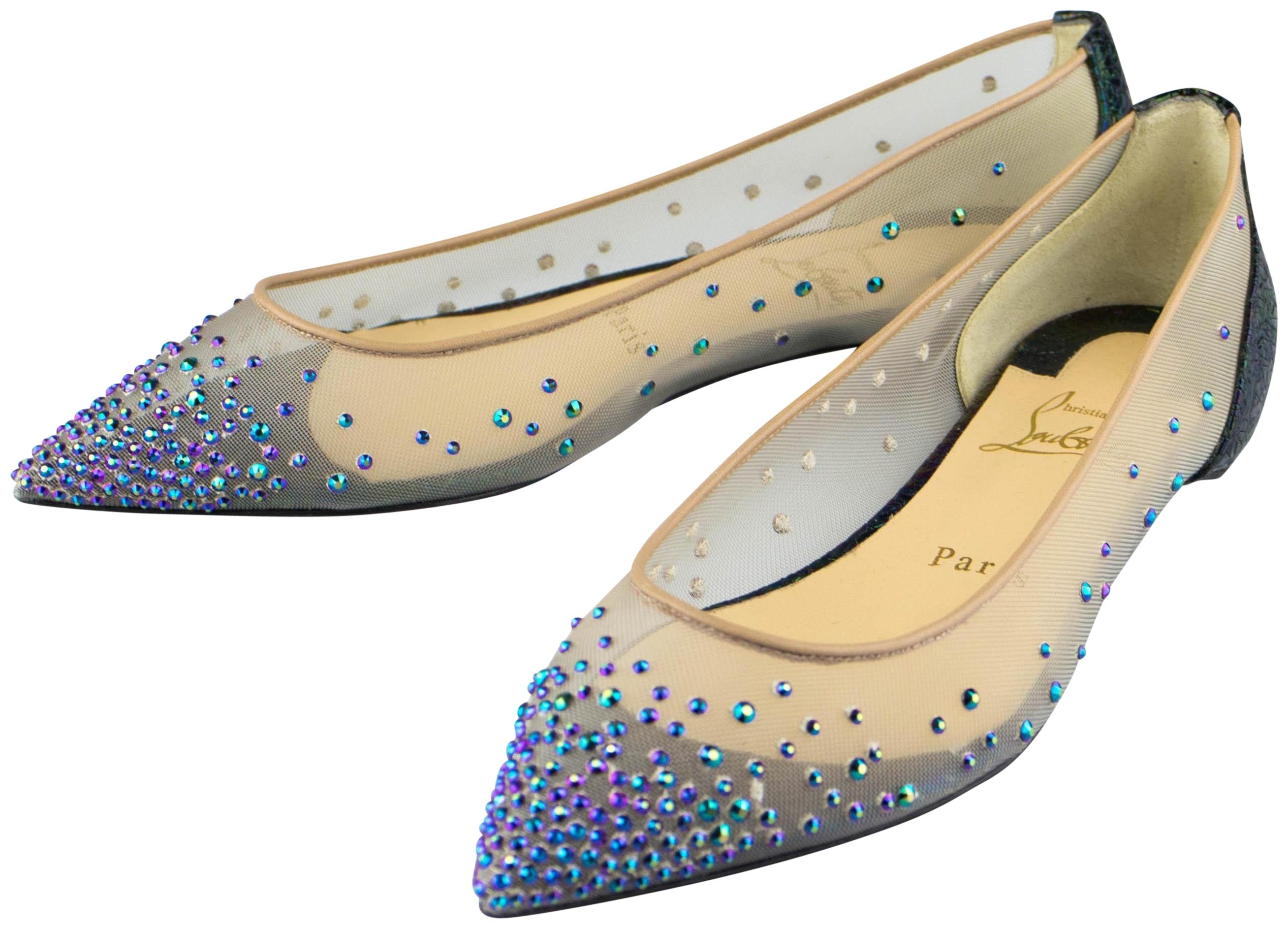 1e88ab188fb discount code for christian louboutin body strass flats 51603 c4383