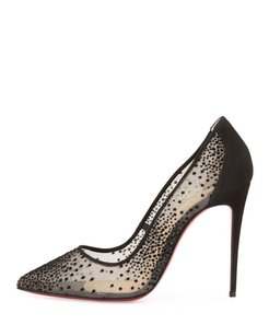 Christian Louboutin Follies Black Pumps