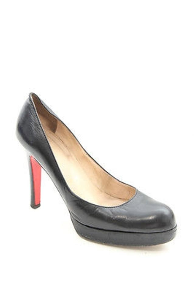 christian louboutin patent leather bruges pumps