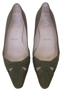 Christian Louboutin Olive Flats