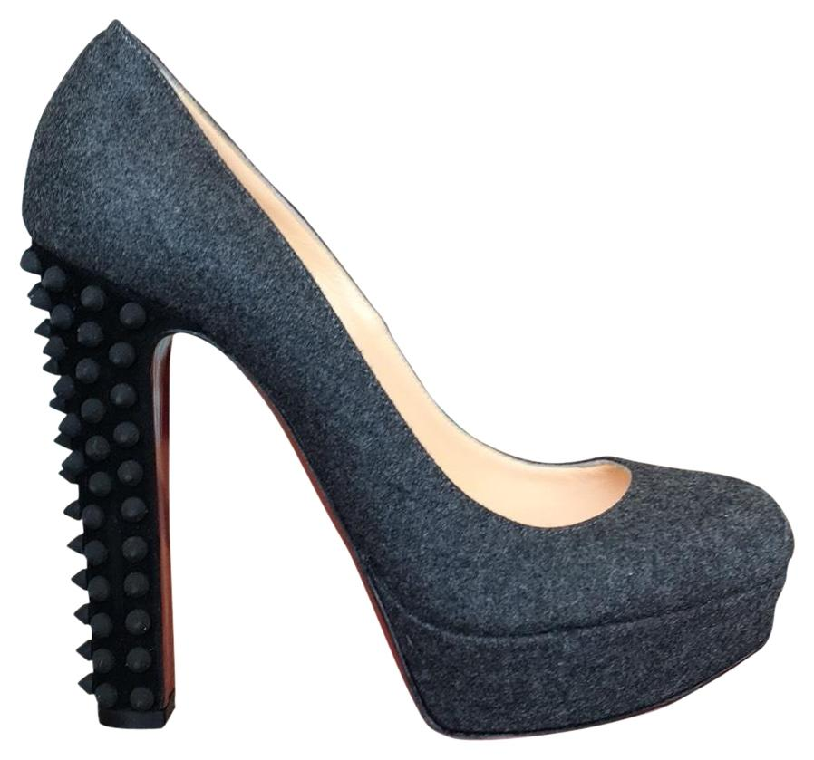 9c26e5a713df Christian Louboutin Gray Taclou Pumps Size EU 38 38 38 (Approx. US 8)  Regular (M