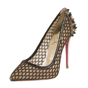 Christian Louboutin Guni Knotted Marron Glace Pumps