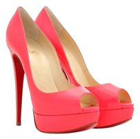 Christian Louboutin Stiletto Hot Pink Platforms