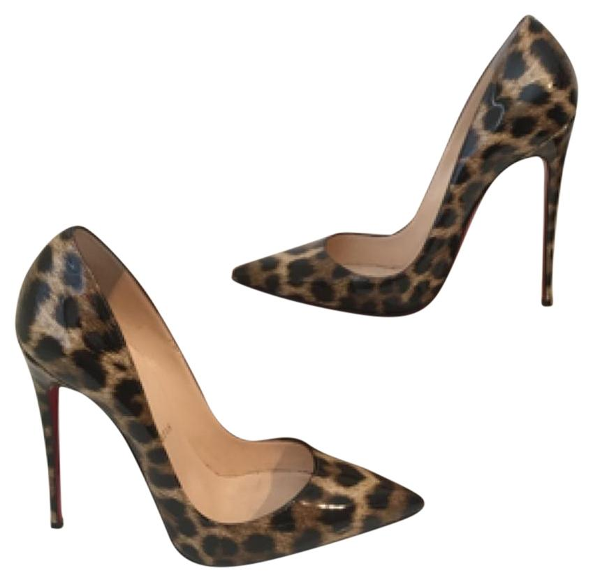 40a5786dc098 Christian Louboutin Leopard Leopard Leopard So Kate Print 38.5 Pumps Size  US 8 Regular (M