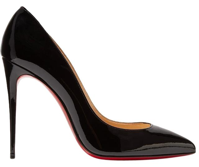 christian louboutin pigalle 100mm black