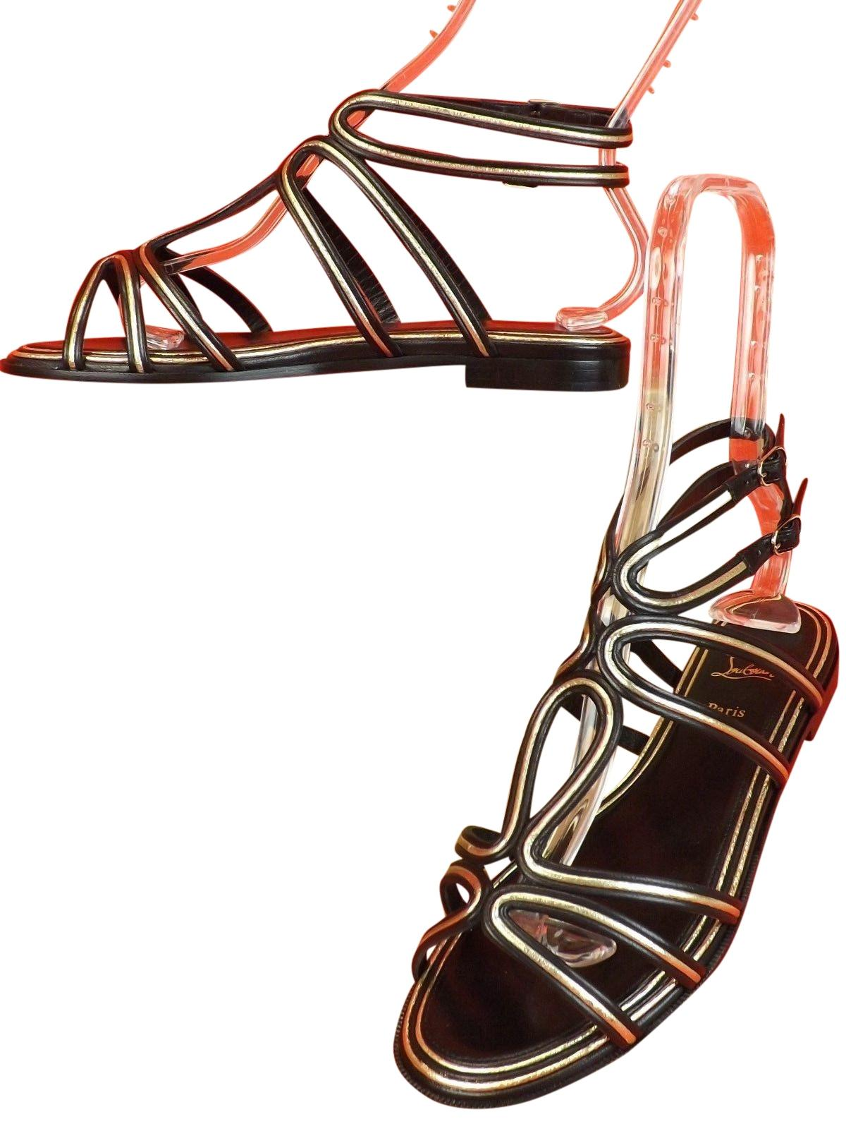 b86f35d83ca2 best price christian louboutin multi colored sandals 49746 636e6
