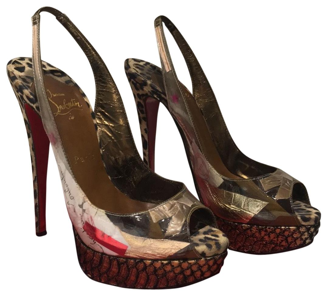 2e1b56807263 Christian Louboutin Multicolor Multicolor Multicolor Winter Trash Pumps Size  EU 39 (Approx. US 9) Regular (M