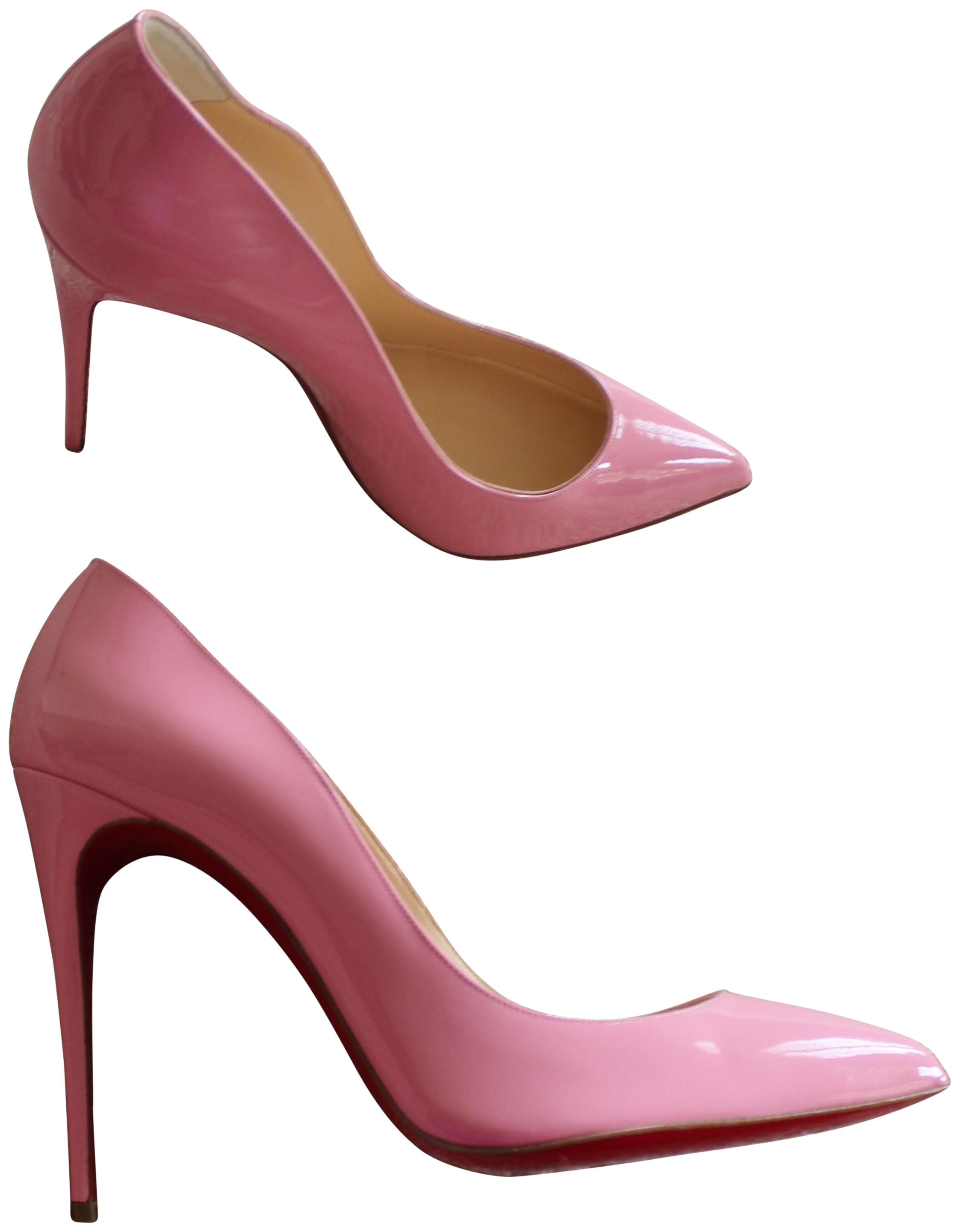 e57a168e01b7 Christian Louboutin Pink Patent Leather Pigalle Follies 100 Pumps Size EU  41 (Approx. US 11) Regular (M