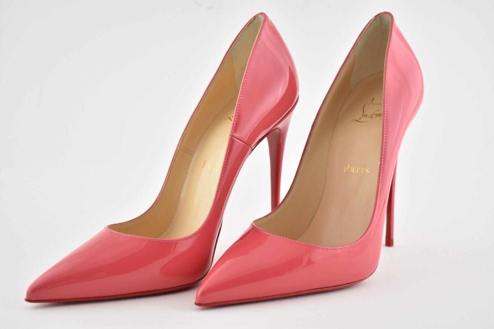 99afe0ffe9a ... Gentleman Lady:Christian Louboutin Pink So So So Kate 120 Begonia  Patent Leather Heel ...
