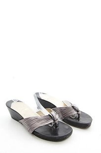 Christian Louboutin Pewter Gray Sandals
