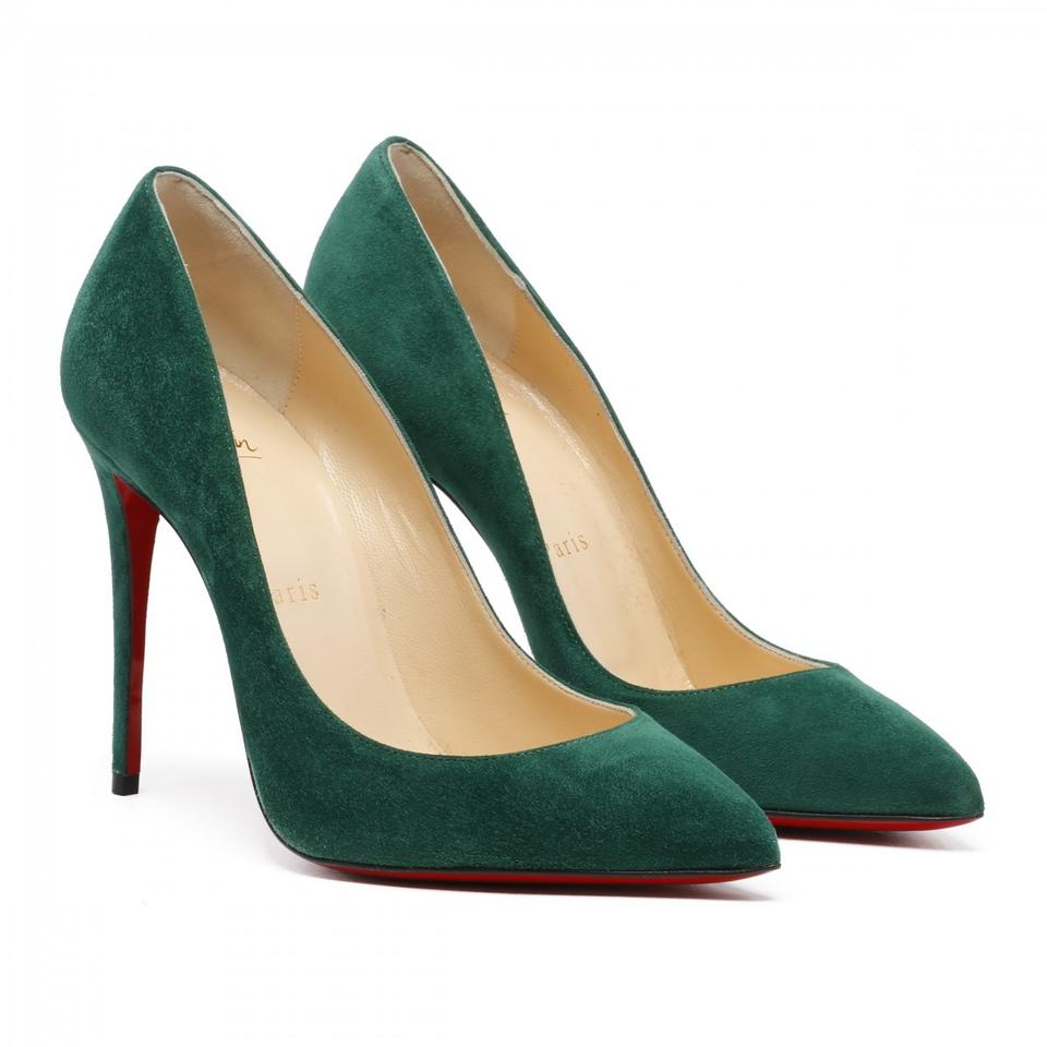 san francisco f40ef f2df3 Mens Black Louboutin Shoes Green Suede Shoes | Law Lanka