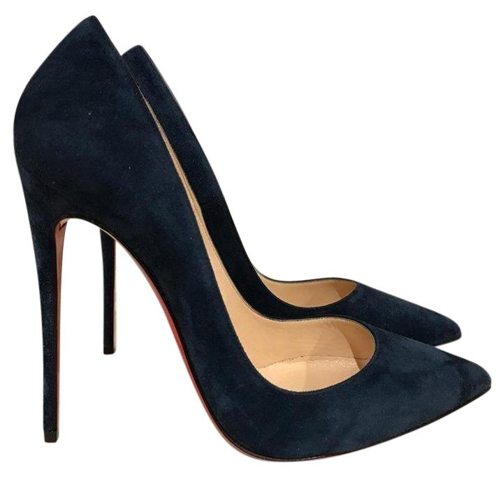 75759f4faee discount navy blue christian louboutin pumps ecff5 c7859