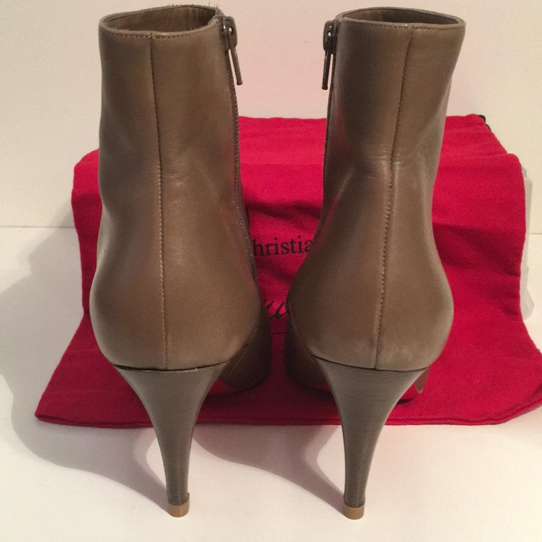 premium selection fcc54 b05f1 shop christian louboutin belle suede ankle boots jobs 8bea4 ...