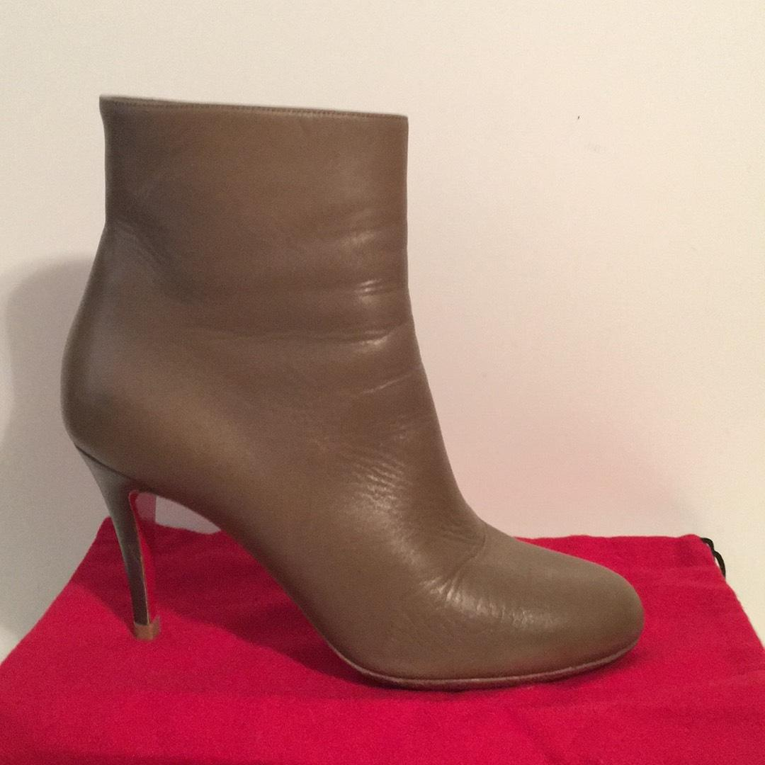 b89b4c8c425 coupon code for christian louboutin belle 100 ankle boots photo ...