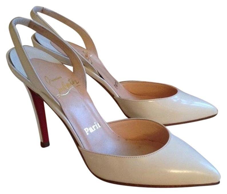 Christian Louboutin White Pumps Size US 6 Regular (M, B)