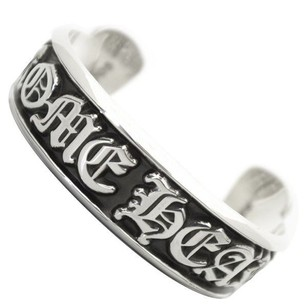 Chrome Hearts Chrome Hearts Scroll Label Bangle