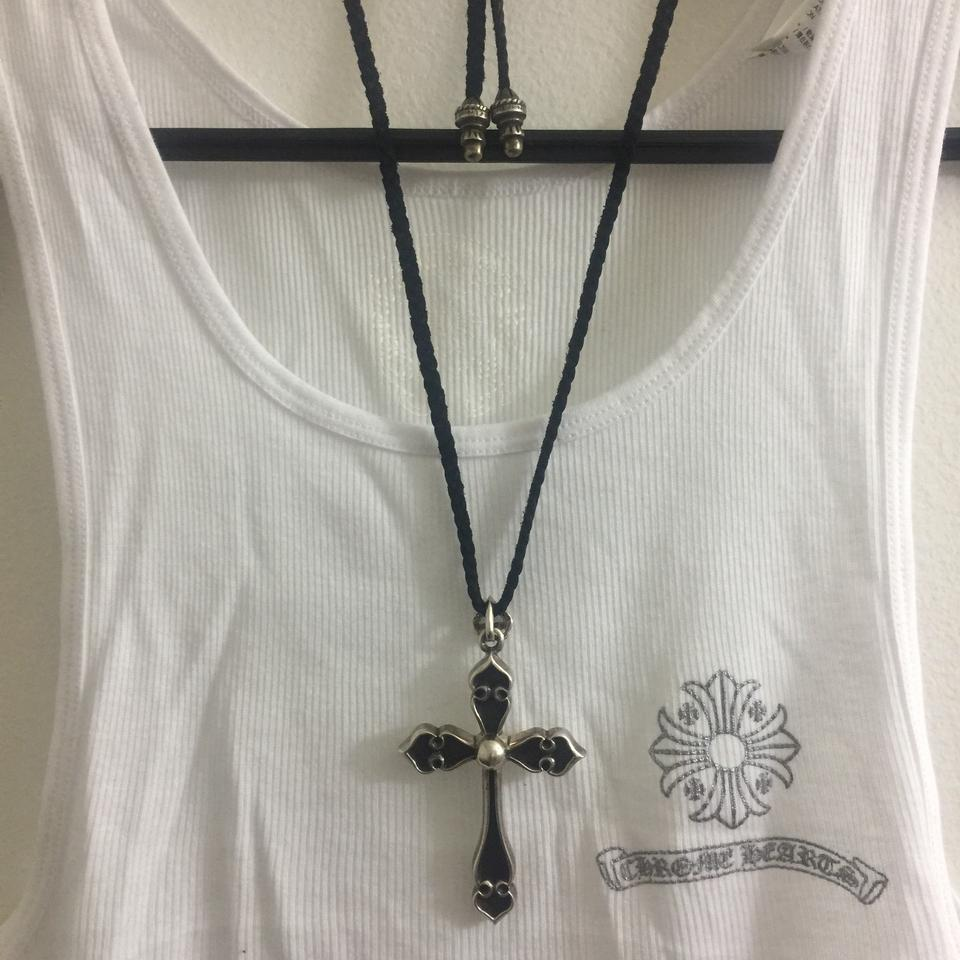 Chrome hearts x large cross pendant necklace tradesy large cross pendant necklace 1234567 mozeypictures Image collections