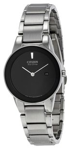 Citizen CITIZEN Axiom Eco Drive Black Dial Stainless Steel Ladies Watch CZGA1050-51E