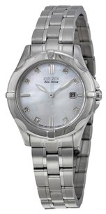Citizen CITIZEN Blue Mother of Pearl Dial Stainless Steel Diamond Ladies Watch CZEW1930-50D