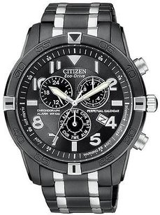 Citizen Citizen Eco-drive Alarm Chronograph Perpetual Mens Watch Bl5478-55e