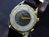Citizen Citizen Four Hands Very Mens Vintage Alarm 17j Gold Plated 1960s Watch 1346