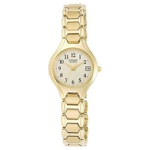 Citizen Citizen Ladies Dress Gold Tone Stainless Steel Bracelet Watch Eu2252-56p