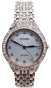 Citizen Citizen Silhouette Crystal Ladies Watch Ew2320-55a