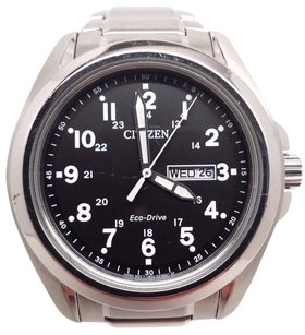 Citizen Citizen Mens Eco-drive Aw0050-82e Silver Stainless-steel Eco-drive Watch
