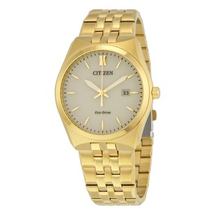 Citizen Corso Eco-Drive Champagne Dial Stainless Steel Men's Watch
