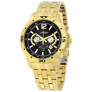 Citizen Men New Gold Tone Wedding Watch