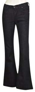 Citizens of Humanity Hutton Womens Blue Dark Wash 25 Pants Trouser/Wide Leg Jeans